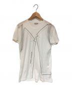 DIOR HOMME(ディオール オム)の古着「プリントTシャツ」 ホワイト