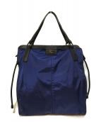 ()の古着「パッカブルナイロントートバッグ」 ブルー