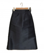 CYCLAS(シクラス)の古着「シルク混スカート」|ネイビー