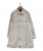 EMPORIO ARMANI(エンポリオアルマーニ)の古着「デニムジャケット」|ホワイト