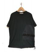 ()の古着「コラボポケットTシャツ」 グレー