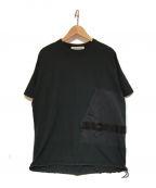 REMI RELIEF(レミレリーフ)の古着「コラボポケットTシャツ」|グレー