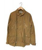 ()の古着「コマンダージャケット」 ベージュ