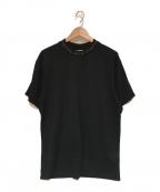 Acne studios(アクネストゥディオス)の古着「ジャガードロゴTシャツ」|ブラック