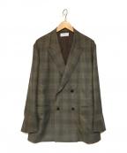 WELLDER(ウェルダー)の古着「Double Breasted Boxy Jacket」 グレー