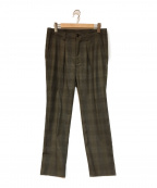 WELLDER(ウェルダー)の古着「One Tack Tapered Trouseres」 グレー