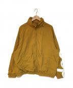 SUPREME()の古着「Spellout Track Jacket ジャケット」|ブラウン