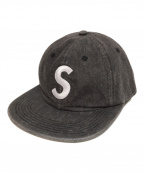 SUPREME(シュプリーム)の古着「Sロゴキャップ」|グレー