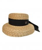 chapeau'O(シャポードオー)の古着「StrawBraid Casablanca」|ナチュラル