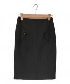 CHANEL(シャネル)の古着「タイトスカート」|ブラック