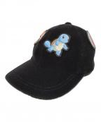 CA4LA(カシラ)の古着「RUBBER WAPPEN CAP」|ブラック
