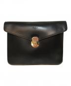 BOLDRINI SELLERIA(ボルドリーニ セレリア)の古着「クラッチバッグ」|ブラック