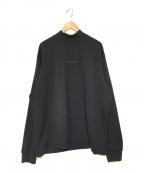 stein(シュタイン)の古着「OVERSIZED HIGH NECK LS カットソー」|ブラック