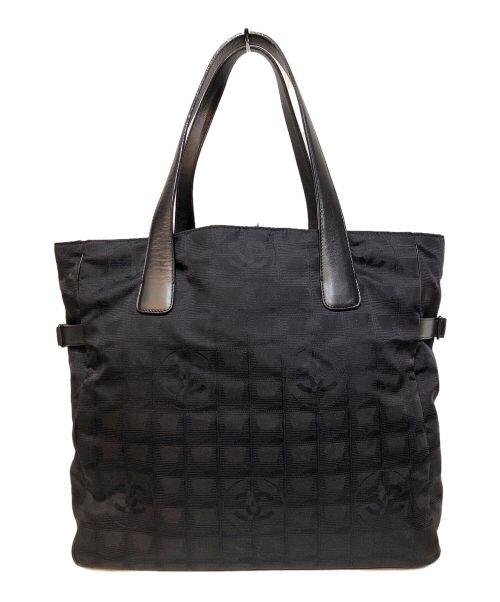 CHANEL(シャネル)CHANEL (シャネル) ココマークトートバッグ ブラックの古着・服飾アイテム