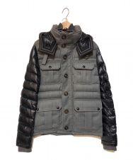 MONCLER (モンクレール) NICHOLASダウンジャケット グレー サイズ:2
