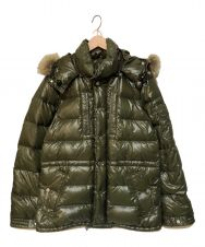 MONCLER (モンクレール) RODダウンジャケット オリーブ サイズ:1