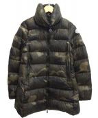 MONCLER(モンクレール)の古着「ナイロンダウンコート」|オリーブ