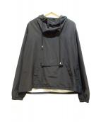 UNUSED(アンユーズド)の古着「プルオーバーパーカー」|ブラック