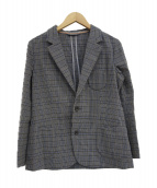 umii 908(ウミ908)の古着「チェックジャケット」|グレー