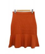 23区(ニジュウサンク)の古着「マーメイドスカート」|オレンジ