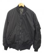 shott(ショット)の古着「MA-1ジャケット」|ブラック