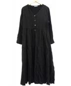 Emma Taylor(エマテイラー)の古着「ドレスワンピース」|ブラック