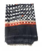 FALIERO SARTI(ファリエロサルティ)の古着「コットンシルクストール」|ブラック