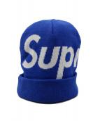 Supreme(シュプリーム)の古着「ビーニー」|ブルー