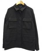 MICHEL KLEIN(ミッシェルクラン)の古着「ミリタリーオックスブルゾン」|ブラック