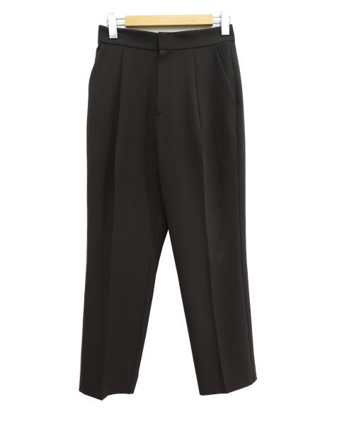 IENA(イエナ)IENA (イエナ) エステルトロタックワイドパンツ ブラウン サイズ:38の古着・服飾アイテム