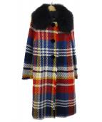 GRACE CONTINENTAL(グレースコンチネンタル)の古着「コート」|マルチカラー
