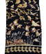 中古・古着 HERMES (エルメス) シルクスカーフ ブラック カレ90 LIBRES COMME LAIR 空は自由:19800円