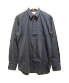 COMME des GARCONS SHIRT(コムデギャルソンシャツ)の古着「コットンシャツ」|ネイビー