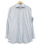 TOM FORD(トム フォード)の古着「ホリゾンタルカラーシャツ」|ブルー