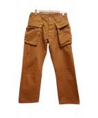 SASSAFRAS(ササフラス)の古着「PLANT MARKER PLUS PANTS」|ブラウン