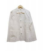 KAPTAIN SUNSHINE(キャプテン サンシャイン)の古着「ミリタリージャケット」|ホワイト