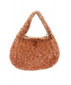ANTEPRIMA(アンテプリマ)の古着「ワイヤーハンドバッグ」|オレンジ