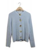 MADISON BLUE(マディソンブルー)の古着「レーヨンカーディガン」 スカイブルー