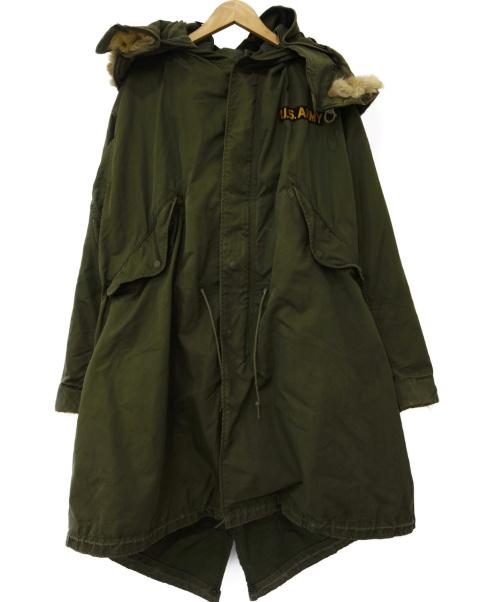 US ARMY(米軍)US ARMY (米軍) ミリタリーフィールドコート オリーブ サイズ:S 米軍 5~60年代 8405-223-7624の古着・服飾アイテム