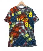 DIESEL(ディーゼル)の古着「パッチプリント半袖Tシャツ」|マルチカラー