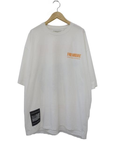 FORSOMEONE(フォーサムワン)FORSOMEONE (フォーサムワン) METAL EAGLE TEE ホワイト サイズ:48の古着・服飾アイテム
