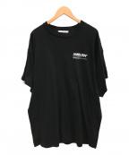 AMBUSH(アンブッシュ)の古着「FIN T-SHIRT」 ブラック