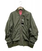 BEAMS BOY(ビームスボーイ)の古着「L-2Bジャケット」|カーキ
