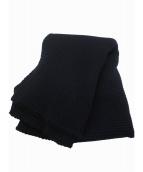 FACTOTUM(ファクトタム)の古着「タスマニアウールブランケット」|ブラック