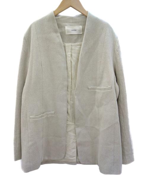 TODAYFUL(トゥデイフル)TODAYFUL (トゥデイフル) レインズオーバージャケット ベージュ サイズ:36の古着・服飾アイテム