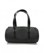 LOUIS VUITTON()の古着「スフロ ハンドバッグ」|ブラック