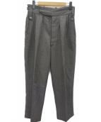 NEAT(ニート)の古着「2タックウールスラックスパンツ」|グレー