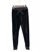 MADISON BLUE(マディソンブルー)の古着「ベロアパンツ」 ブラック