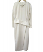 ELENDEEK(エレンディーク)の古着「コンフォートダブルワンピース」|ホワイト