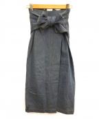 Diagram(ダイアグラム)の古着「デニムタイトスカート」|ブルー